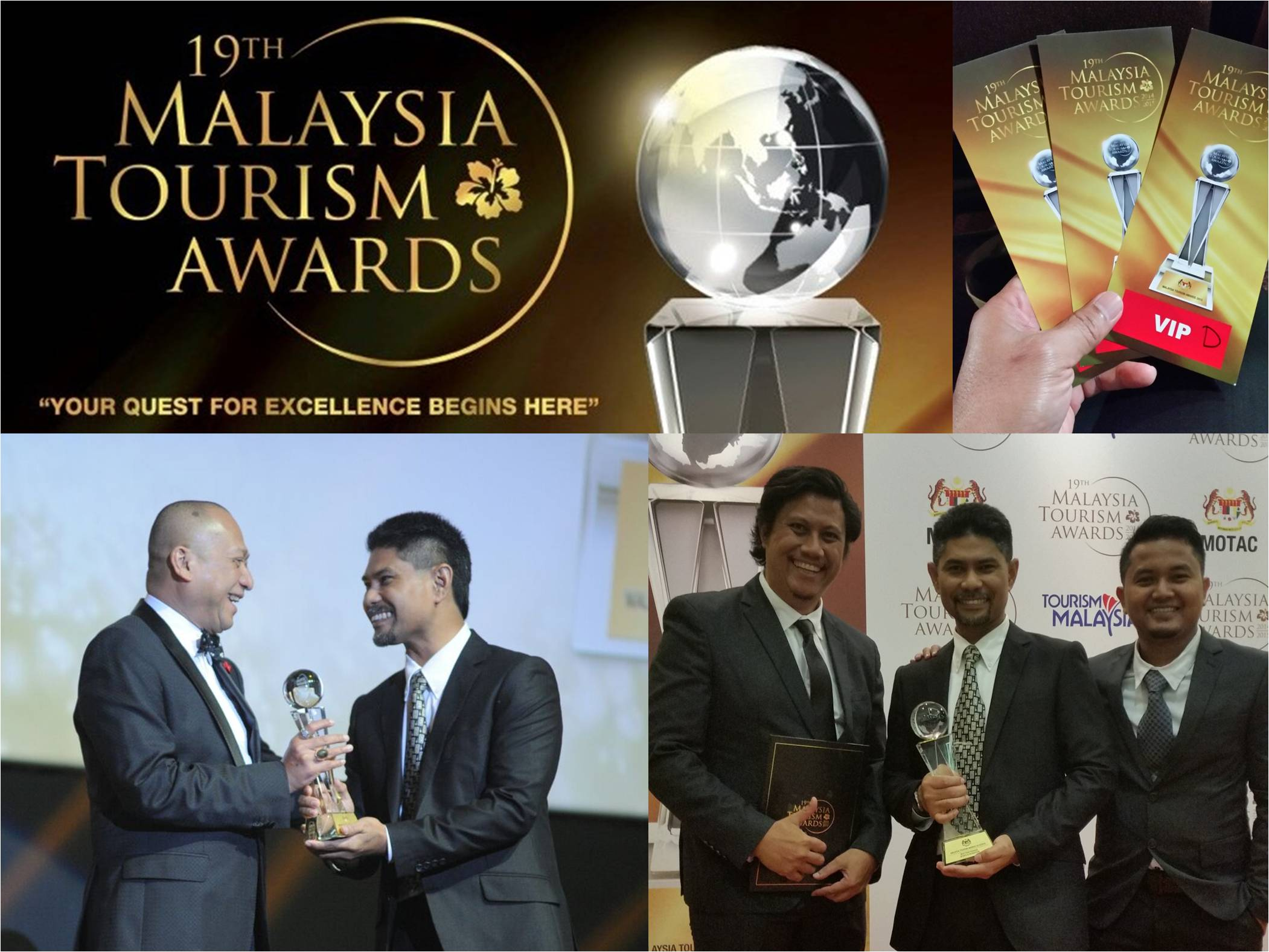 The prestigous 19th Malaysia Tourism Award event