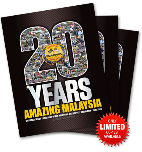 Malaysian GP Commemorative Book