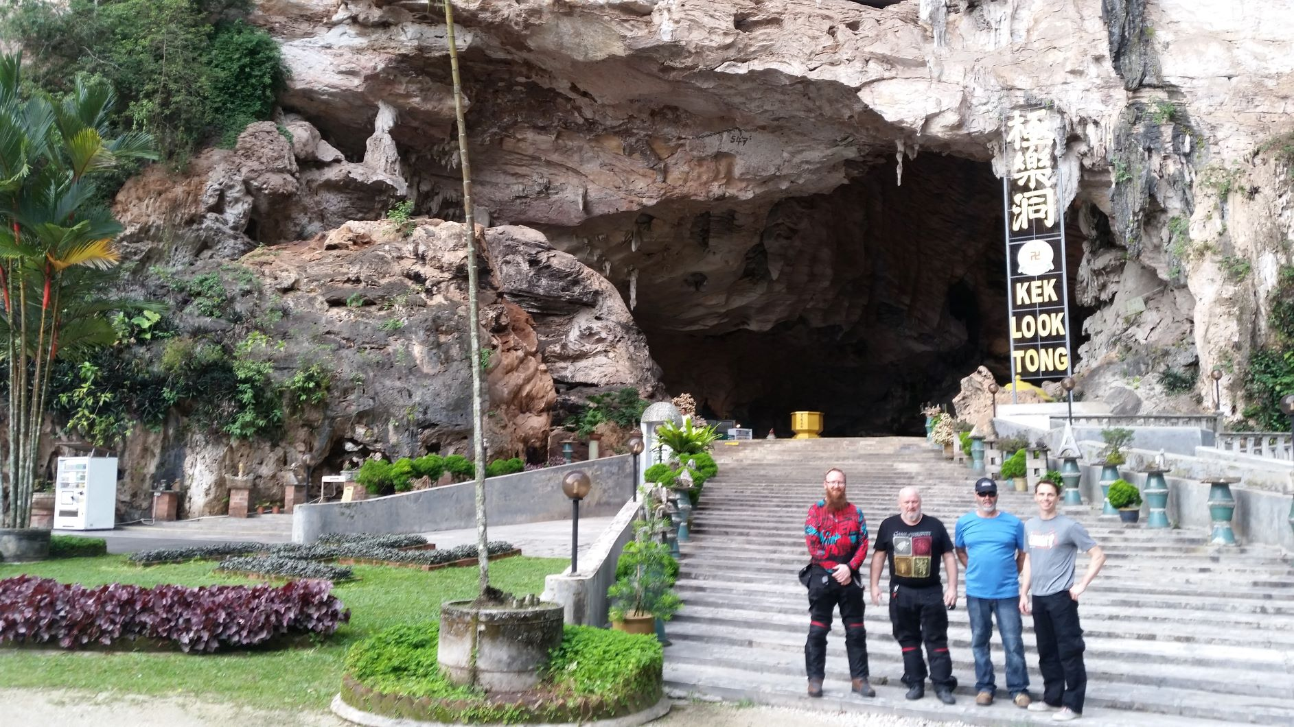 Experience the serenity of cave temples
