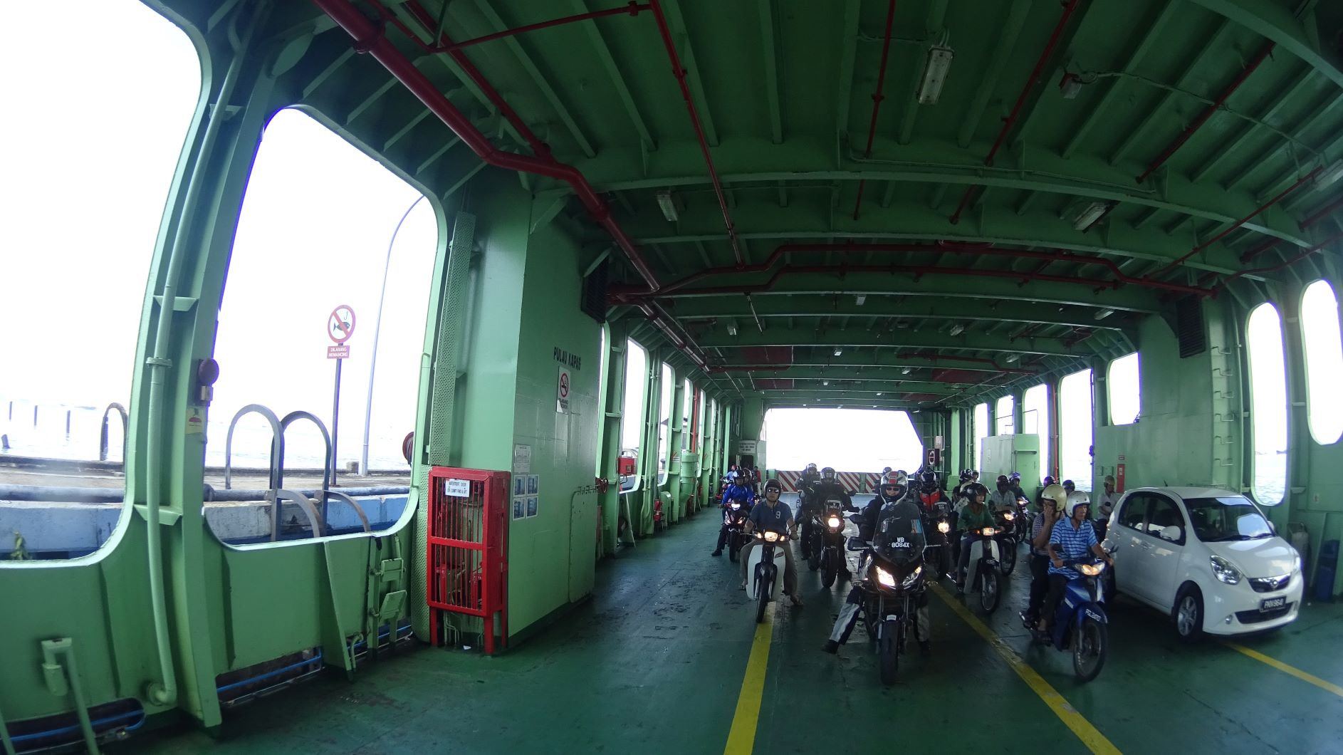 Ferry ride to Penang